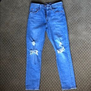 Levi Strauss & Co Distressed Jeans